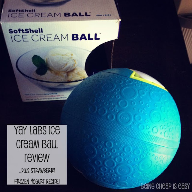 #YayLabs, DIY Ice Cream, Frozen Yogurt, Ice Cream Ball, Stonyfield Yogurt, #StonyfieldBlogger