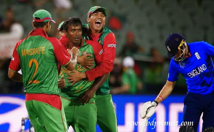 Bangladesh Vs England match in World cup 2015