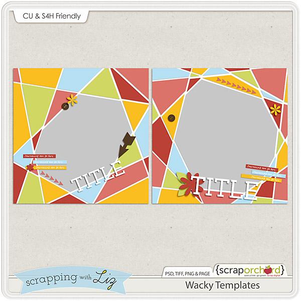 http://scraporchard.com/market/Wacky-Digital-Scrapbook-Templates.html