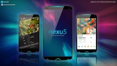 GOOGLE + LG NEXUS 5