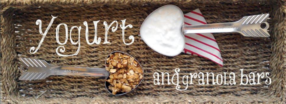 Yogurt and Granola Bars