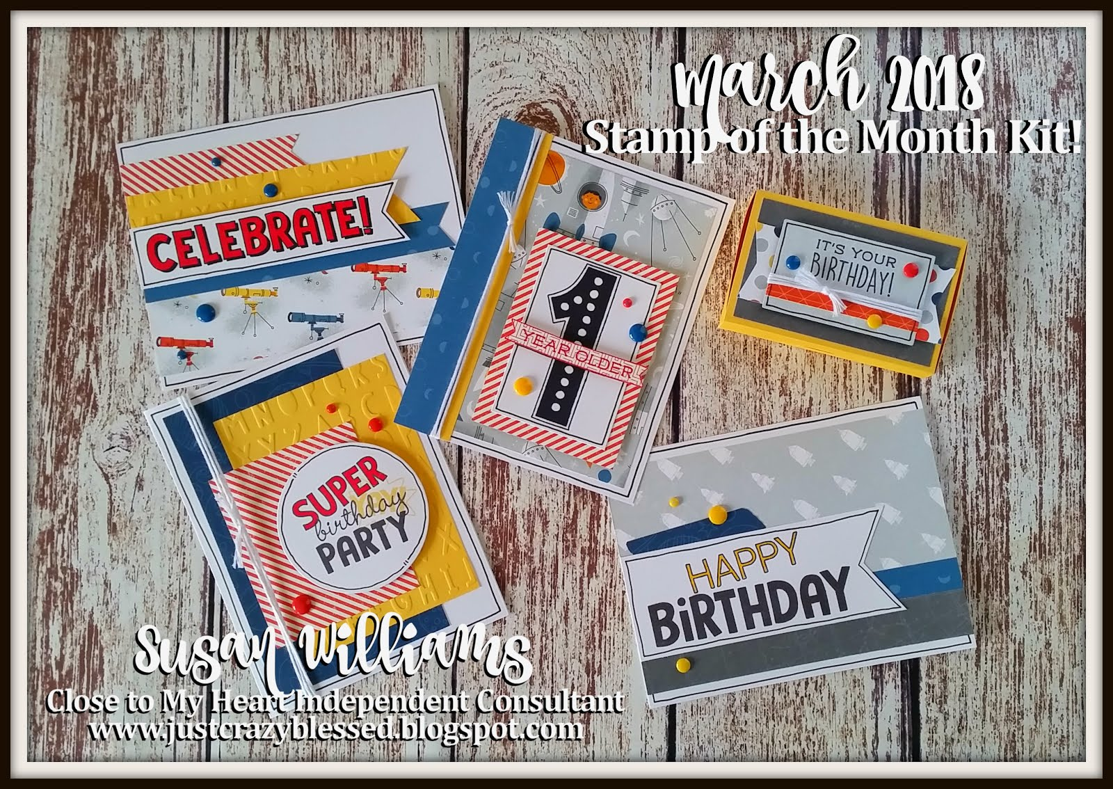 March Stamp of the Month Workshop!