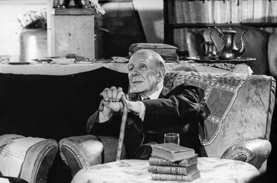 Borges todo el a o jorge luis borges el acto del libro for Borges el jardin