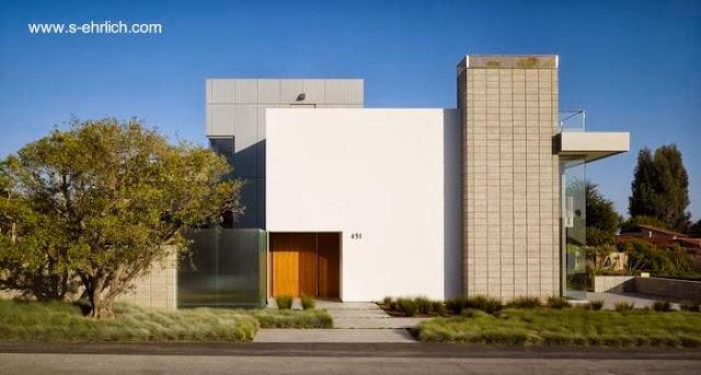 Casa residencial contemporánea californiana en Aptos