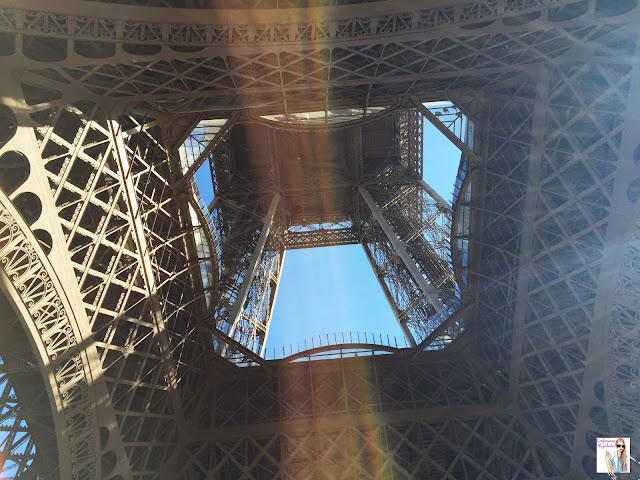 Parisian Adventures in October, Paris Eiffel Tower visit