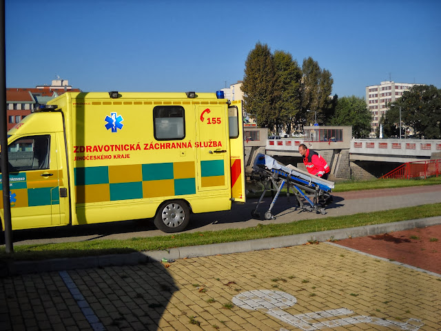Zdravotnická záchranka v akci
