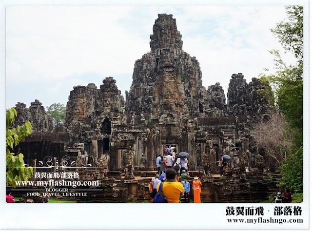 Travel Cambodia 2015 | 大吴哥城里的微笑石脸 《巴戎寺 Bayon》 (1)