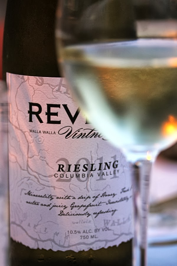 Bottle of Riesling #wine