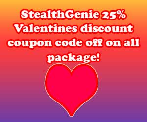 stealthgenie 25% discount coupon code off on all package