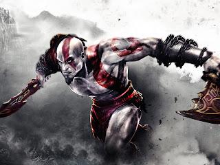 Kratos God of War Tattoo Blade Video Game HD Wallpaper Desktop PC Background