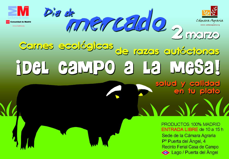 Nosolometro d a de mercado de productos agroalimentarios este s bado - Recinto ferial casa de campo madrid ...