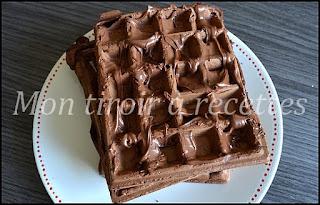 gaufre chocolatée
