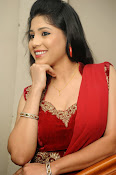 Ziya Khan Glamorous Photos in Red-thumbnail-11