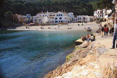Sa Tuna beach in Costa Brava