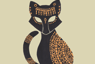 The Egyptian Cat Illustration by Haidi Shabrina