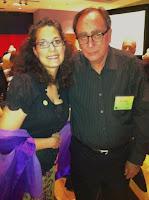 Rebecca Ballenger with R.L. Stone