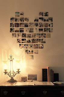 Love heart wall pictures