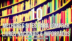 10 Melhores sites para comprar livros Nacionais e Importados.