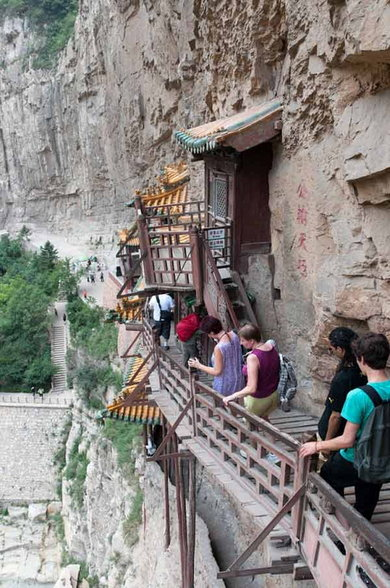 Hanging Temple In Mount Hengshan History Hindi
