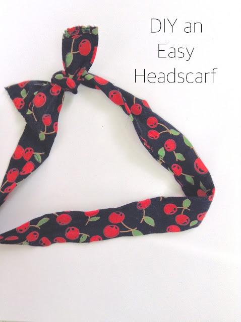 Easy DIY Headscarf
