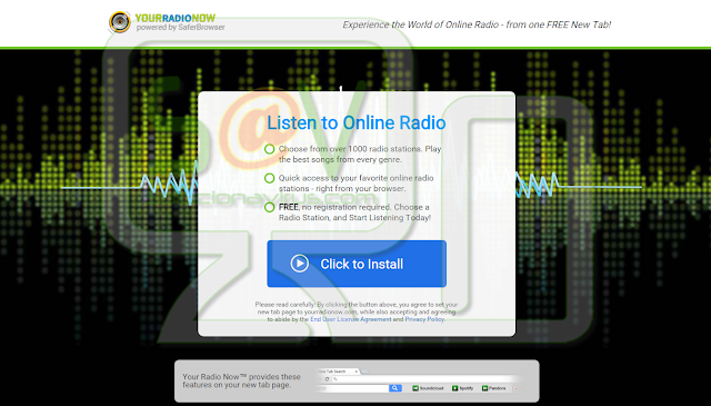 YourRadioNow Toolbar