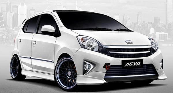 Tips dan Cara Modifikasi Mobil Toyota Agya Terbaru Agar Tampil Lebih Gaya !