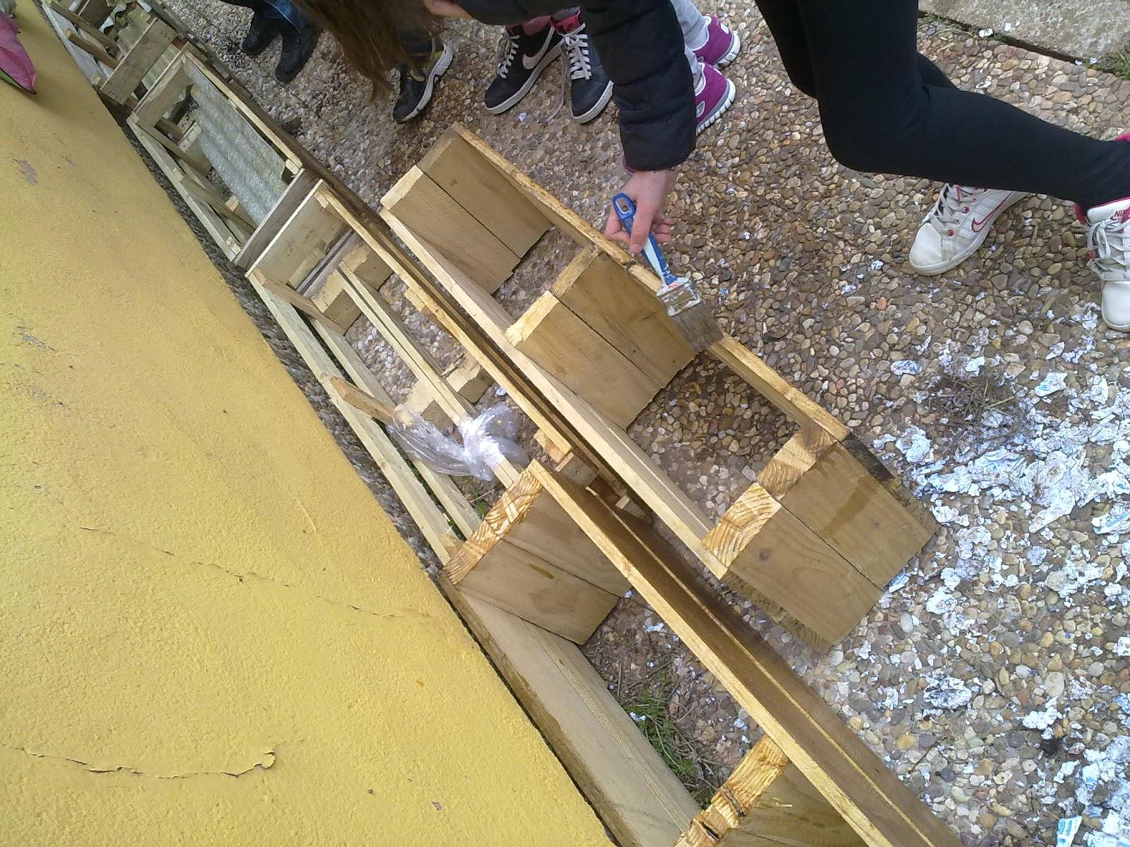 Huertogiraldo jardineras de madera - Jardinera de madera ...