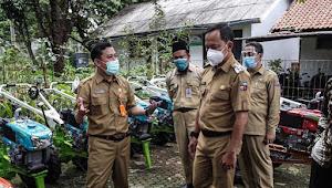 Dinas Pertanian Kota Bogor Terima Bantuan Hasil Aspirasi Komisi IV DPR RI