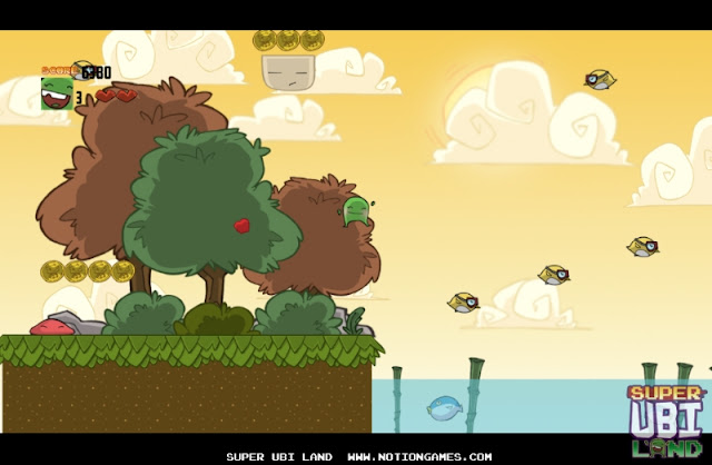 Screenshot of video game Super Ubi Land
