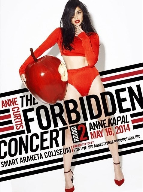 Anne Curtis The Forbidden Concert Round 2: Annekapal Poster