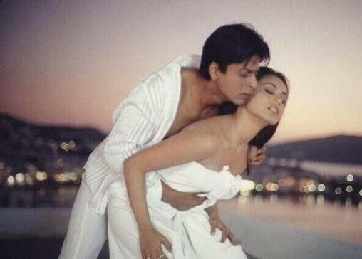 shahrukh khan romance