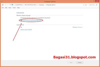 Cara Ganti Bahasa di windows 8 menjadi bahasa indonesia