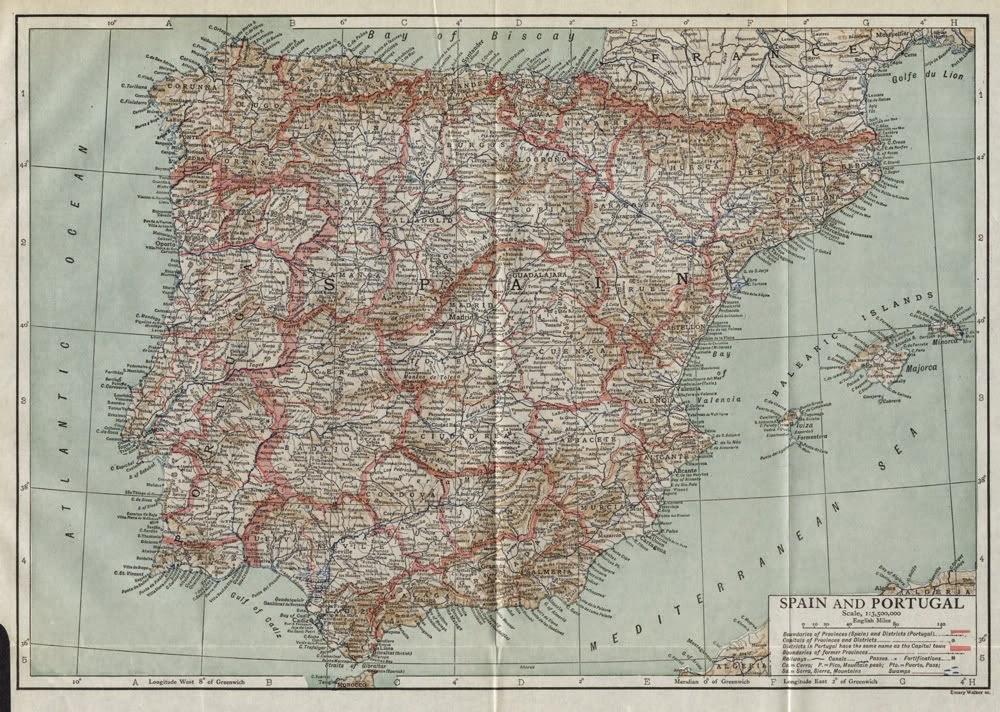 España y Portugal, Encyclopedia Britannica  1910