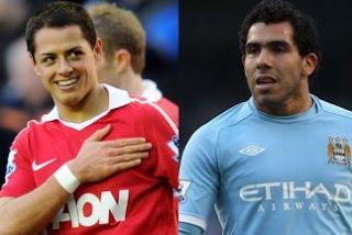 Chicharito y Tévez jugaría en el Real Madrid