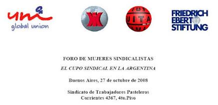 -Foro Mujeres Sindicalistas