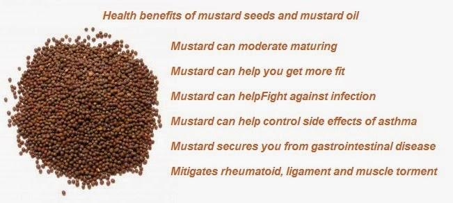 Mustard seeds and oil Health benefits