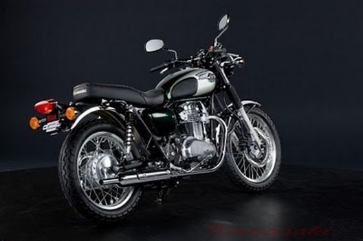 Kawasaki Motorcycles Try Again Launched A Retro Style Still Using The Standard W800 Produce Much More Sporty Cafe Racer