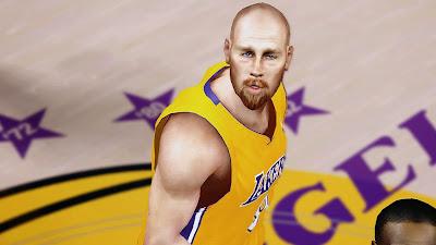 NBA 2K14 Chris Kaman Cyberface Mod