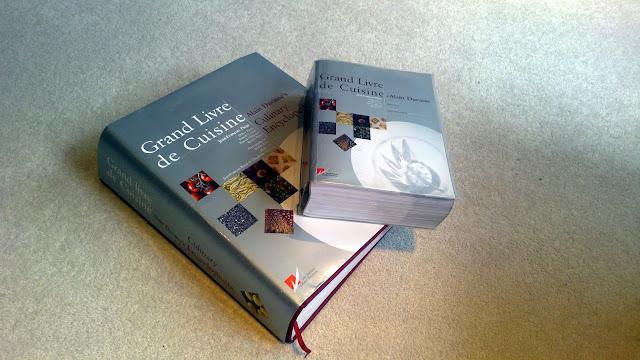 More cookbooks than sense grand livre de cuisine by alain for Livre cuisine ducasse