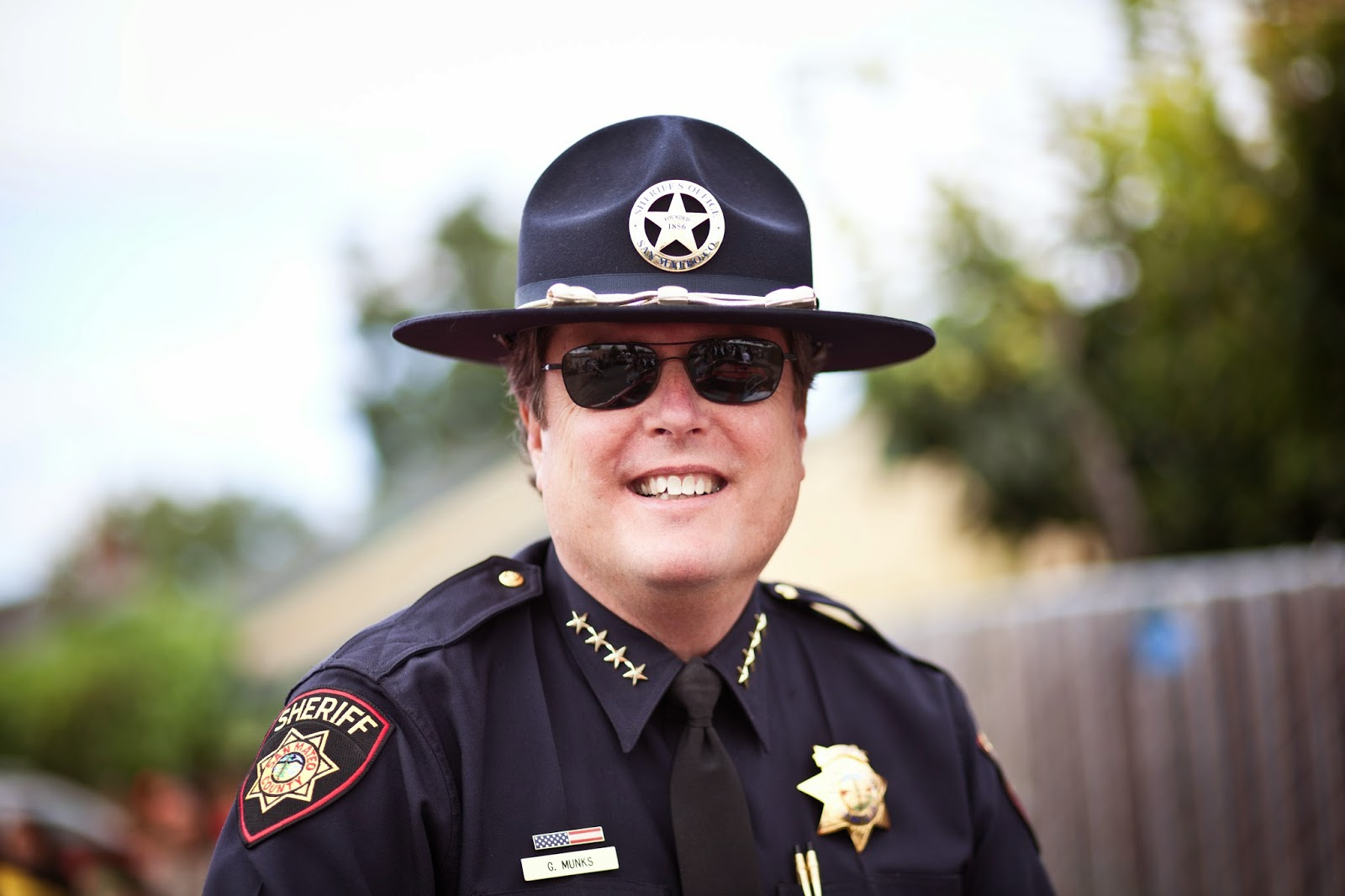 Hi! I'm San Mateo County Sheriff Munks: Happy Ending?
