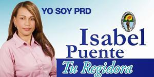 Regidora Isabel Puente de Aza!