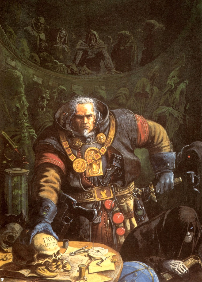 dark heresy 2nd edition how to become inquisitor