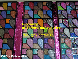 First Giveaway of 2013 - 126 Eyeshadow Palette - International . Till March 25