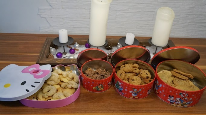 Haferflockencookies, Vanillekipferl