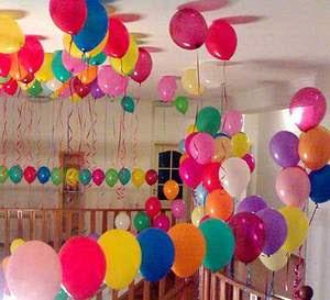 Decoracion con globos para fiestas infantiles decorando for Decoracion con globos precios
