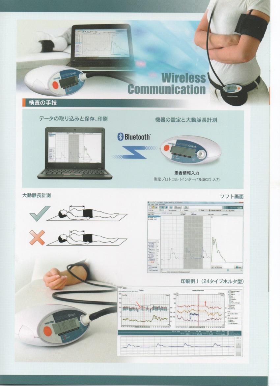 24時間から72時間計測 動脈解析