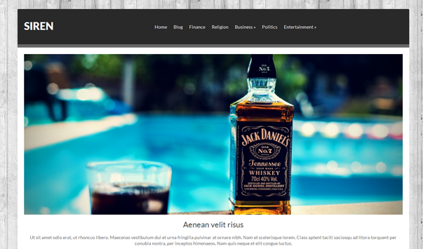 Siren Theme Wordpress Terbaik