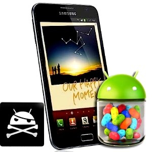 root galaxy note 2 verizon 4 1 1