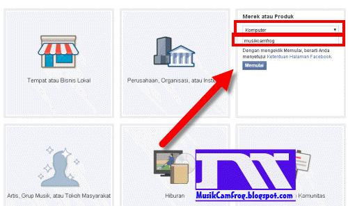 cara membuat fanpage di facebook