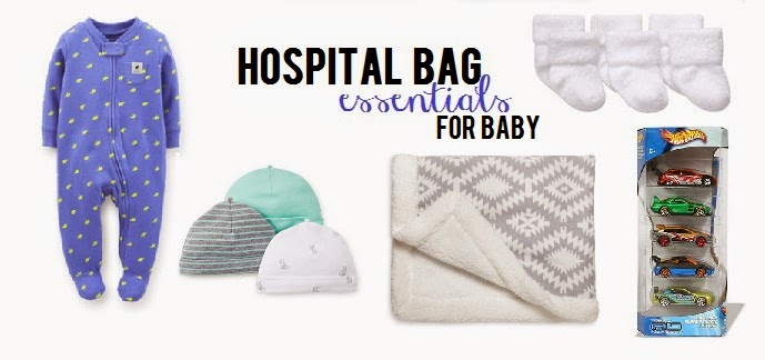 hospital bag essentials for baby